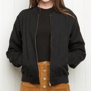 Brandy Bomber Jacket